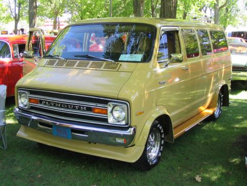 Plymouth van