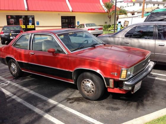 Chevrolet Citation X11 fq