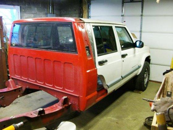 Jeep cheromanche