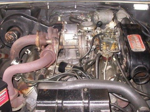 storage yard classic 1980 1981 pontiac firebird turbo trans amoldsmobile f85_jet_fire_v8_turbo_engine_1