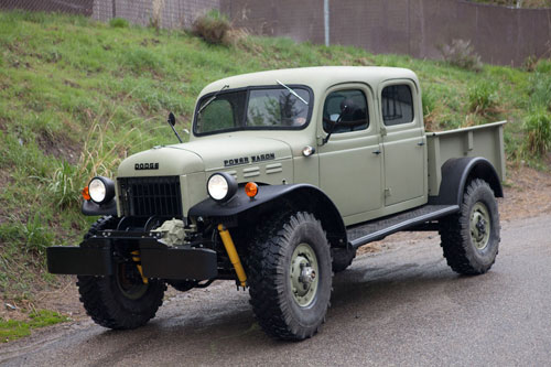 Power Wagon double cab