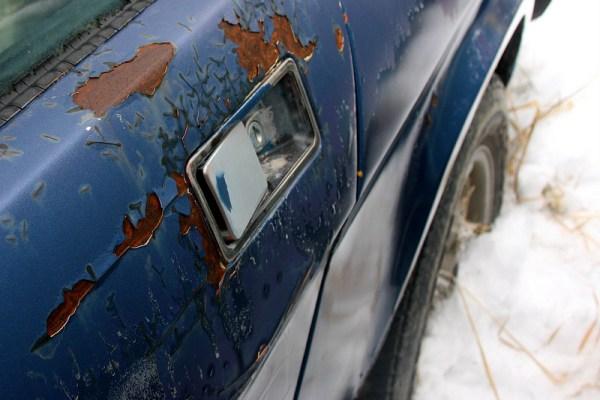 TR7 door handle