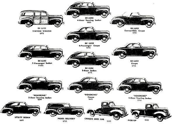 1940 plymouths