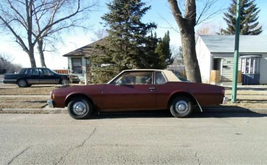 1977 Chevrolet Bel Air side