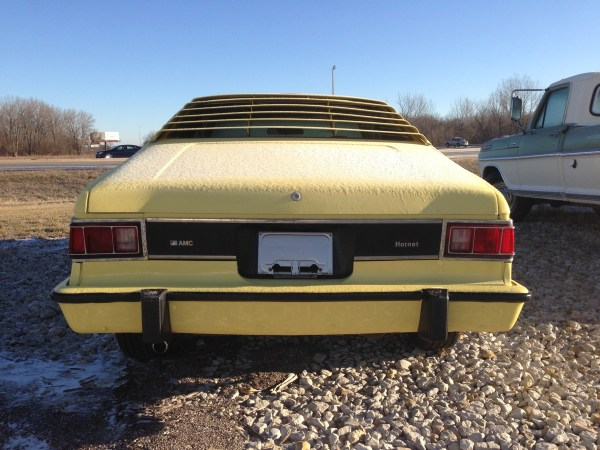 1977_hornet_amx_rear