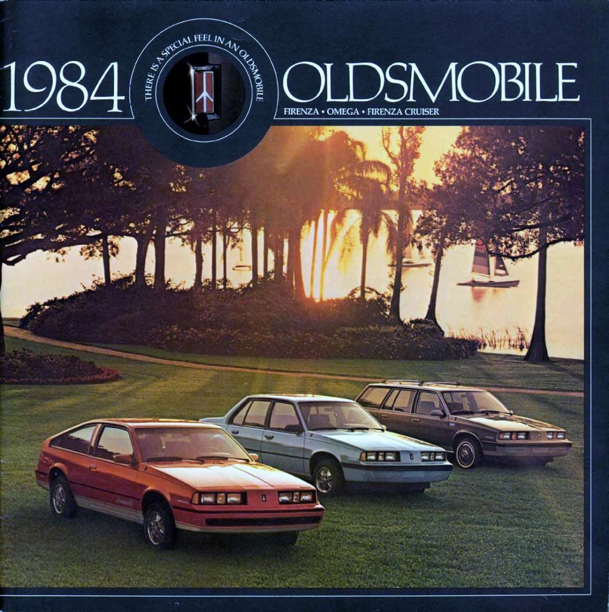 GT 1987 Oldsmobile Calais Firenza 28-page Original Sales Brochure Catalog