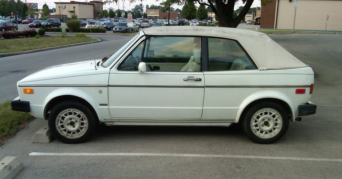 Curbside Clic: 1986 Volkswagen Cabriolet – What Women Want