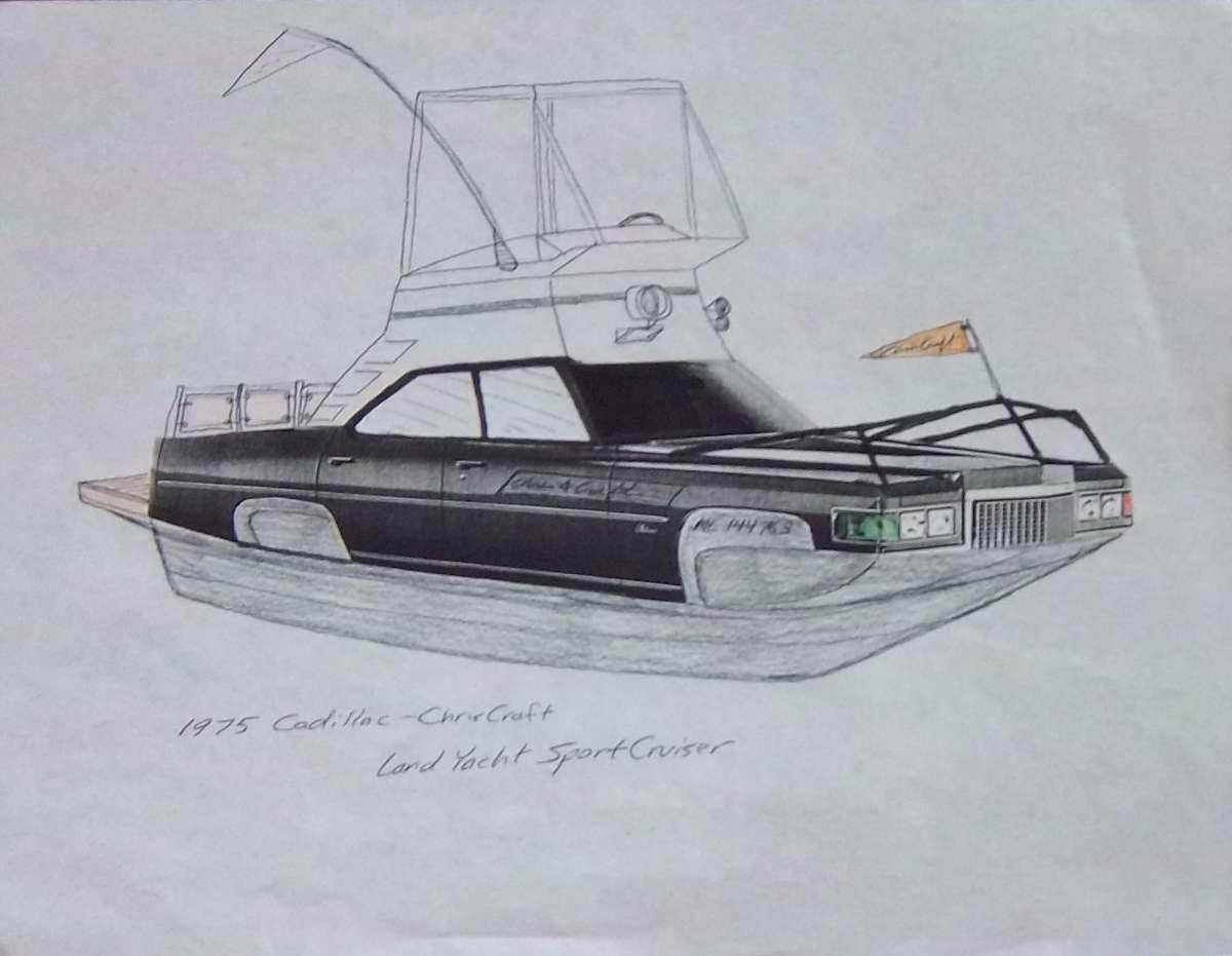 Curbside Doodling – Cadillac-Craft Commander