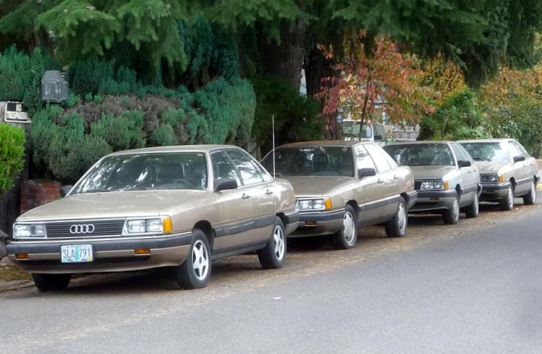 curbside classic 1990 audi 100 a 5000 under an assumed identity rh curbsideclassic com Used 1991 Audi 100 Quattro 1992 Audi 100