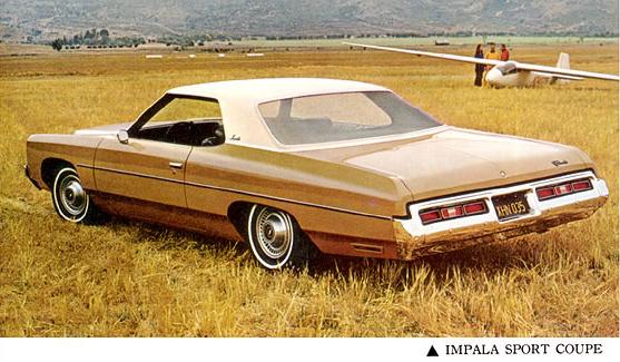 Chevrolet 1972 Impala sport coupe