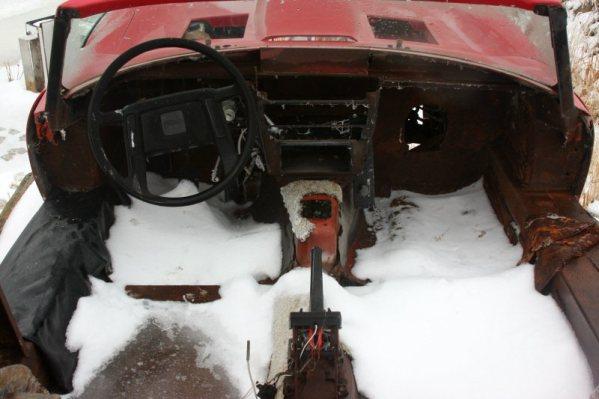 Jaguar E-Type Kit Car interior