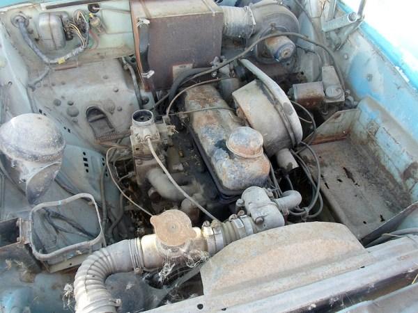 1962 Standard Vanguard Vignale engine