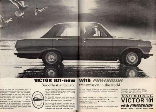 1965 Vauxhall Victor 101 ad