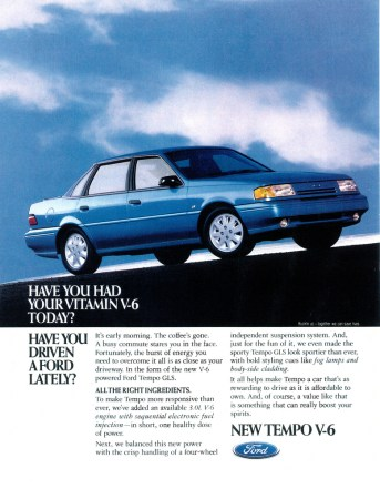 1992 Ford Tempo GLS