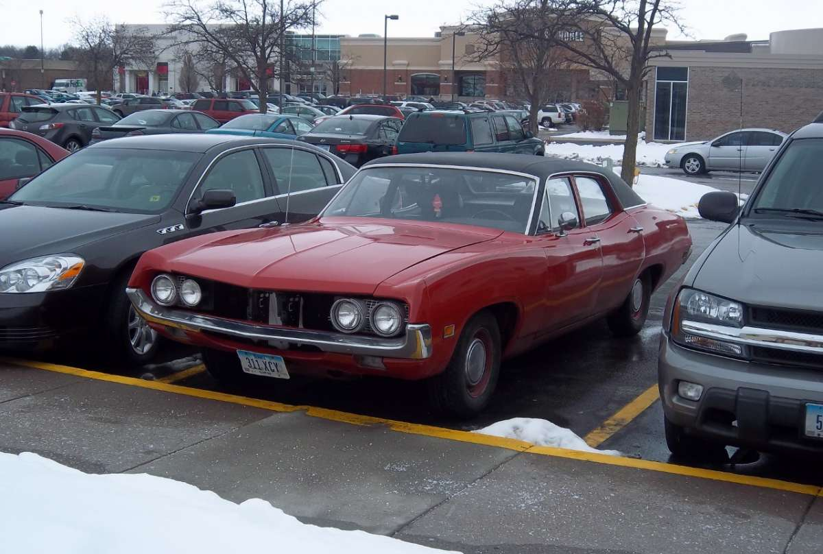 Curbside Classic: 1970 1/2 Ford Falcon Sedan – Needle, Meet