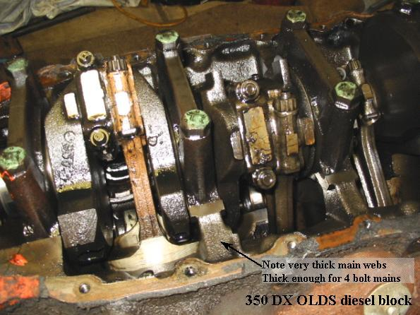 Blockweb Dx on 350 Oldsmobile Engine Casting Numbers