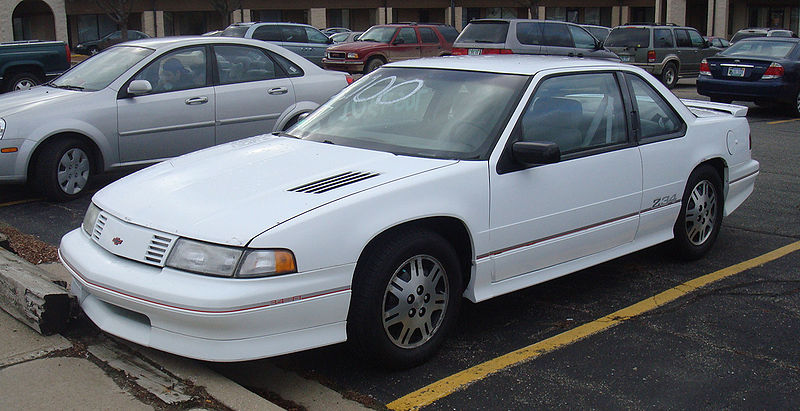 Worksheet. Curbside Classic 1991 Chevrolet Lumina Euro  GMs Deadly Sin