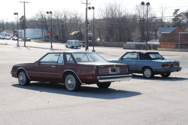 Chrysler Cordoba rear