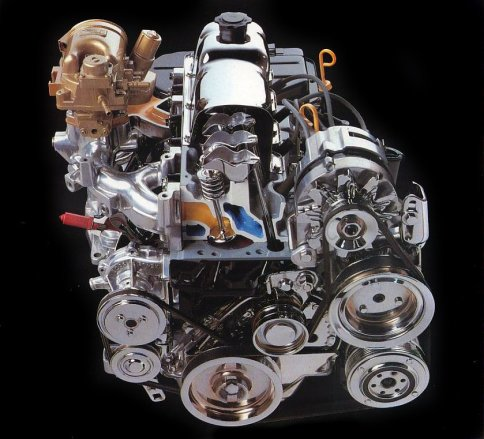 Ford Tempo four cylinder engine