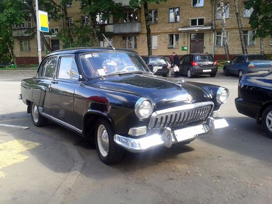 GAZ 21 2nd_series 1959 _Volga