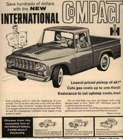 IH 1961 International Truck Ad-05