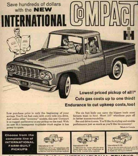 IH 1961 International Truck Ad-05