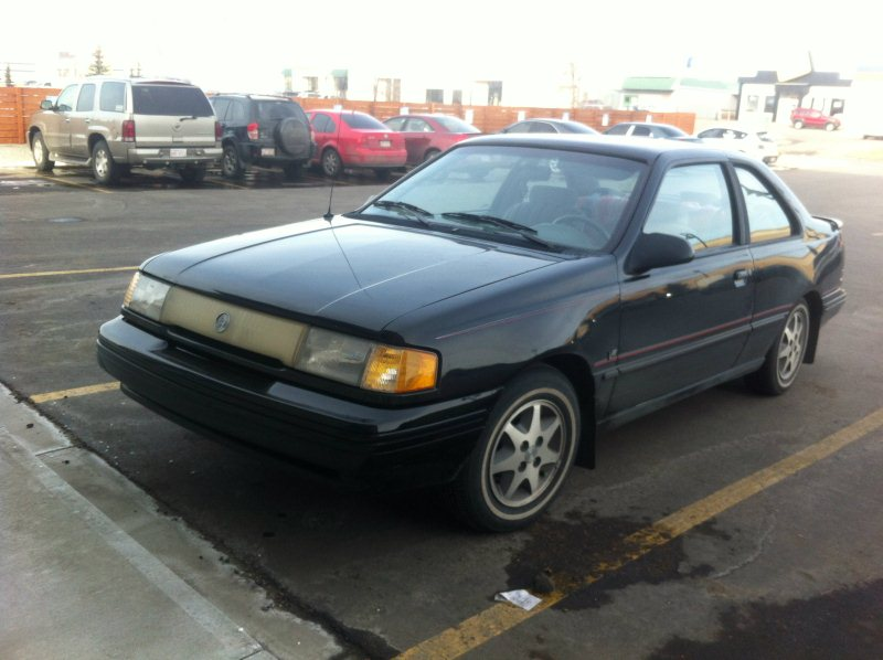 Curbside Classic: Mercury Topaz GS V6 / Five-speed Coupe – Oxymoron