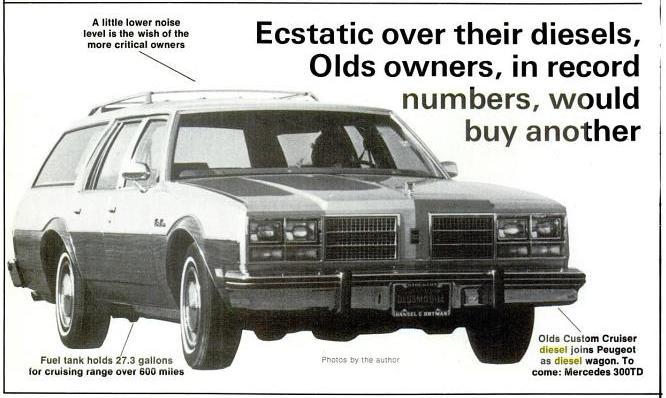 Curbside Classic: 1978 Oldsmobile Delta 88 Diesel – In