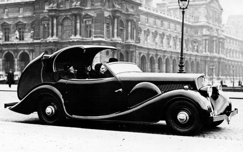 Automotive History: 1934 Peugeot 601 Éclipse – The World\'s First ...