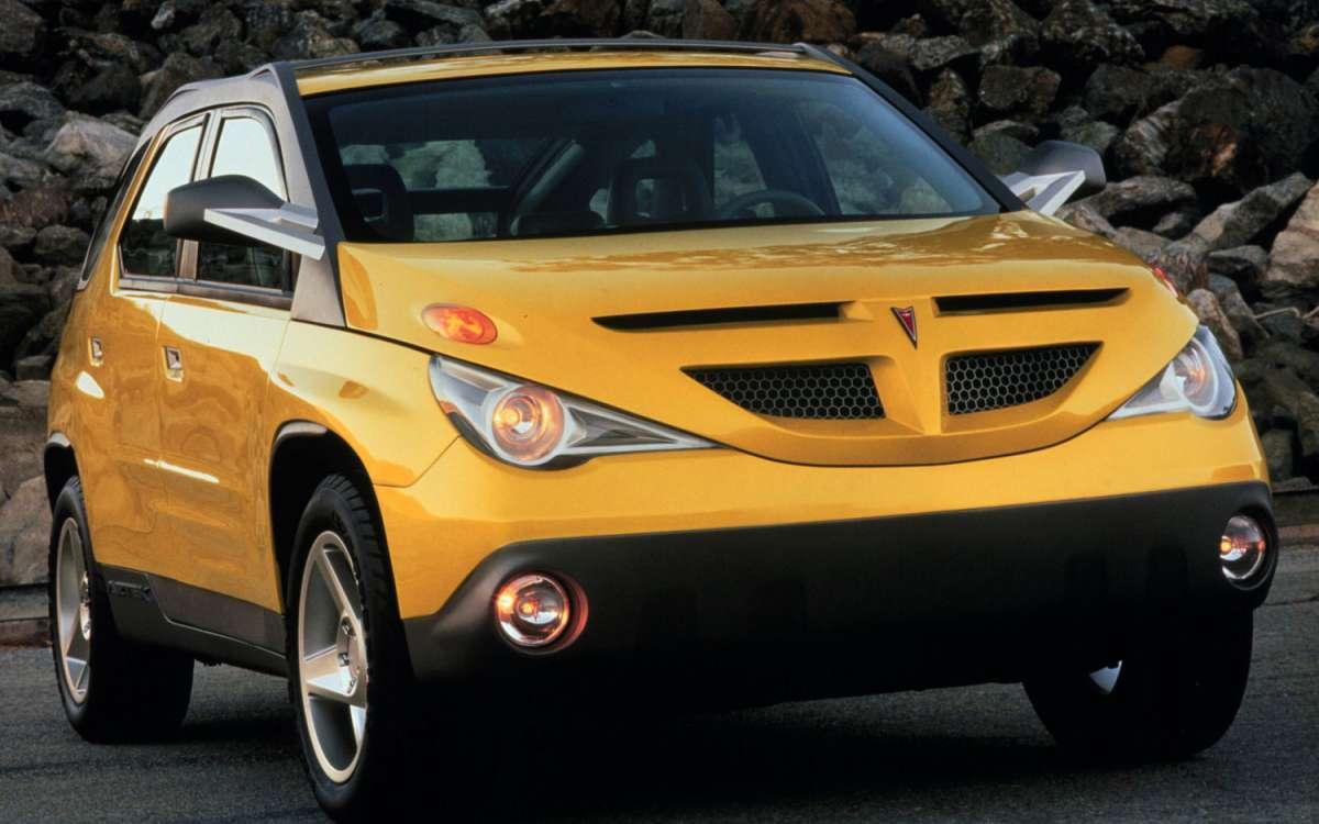 Curbside Classic: 2001 Pontiac Aztek: A Face Only A Mother ...