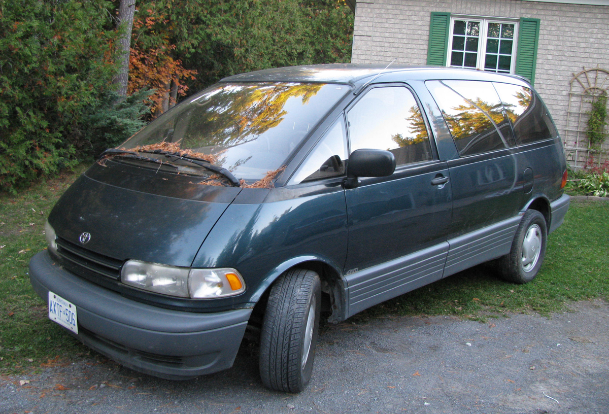My First Car Of A Lifetime 1994 Toyota Previa All Trac The G Bubble Curbside Classic