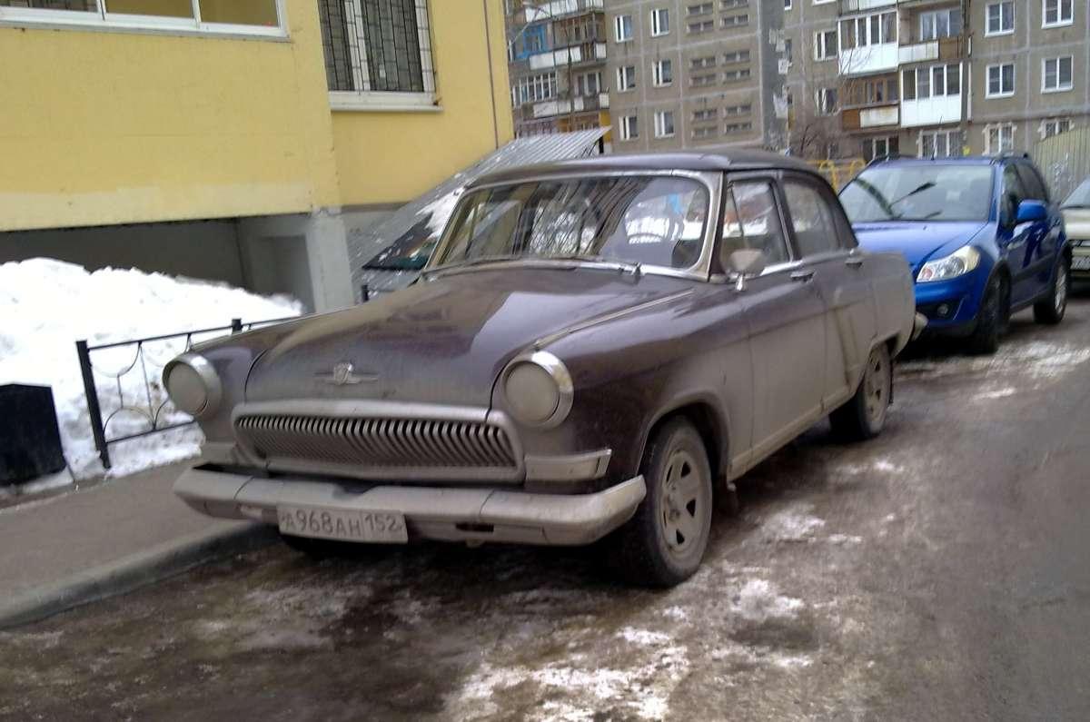 GAZ-23 Volga: technical specifications, modifications 59