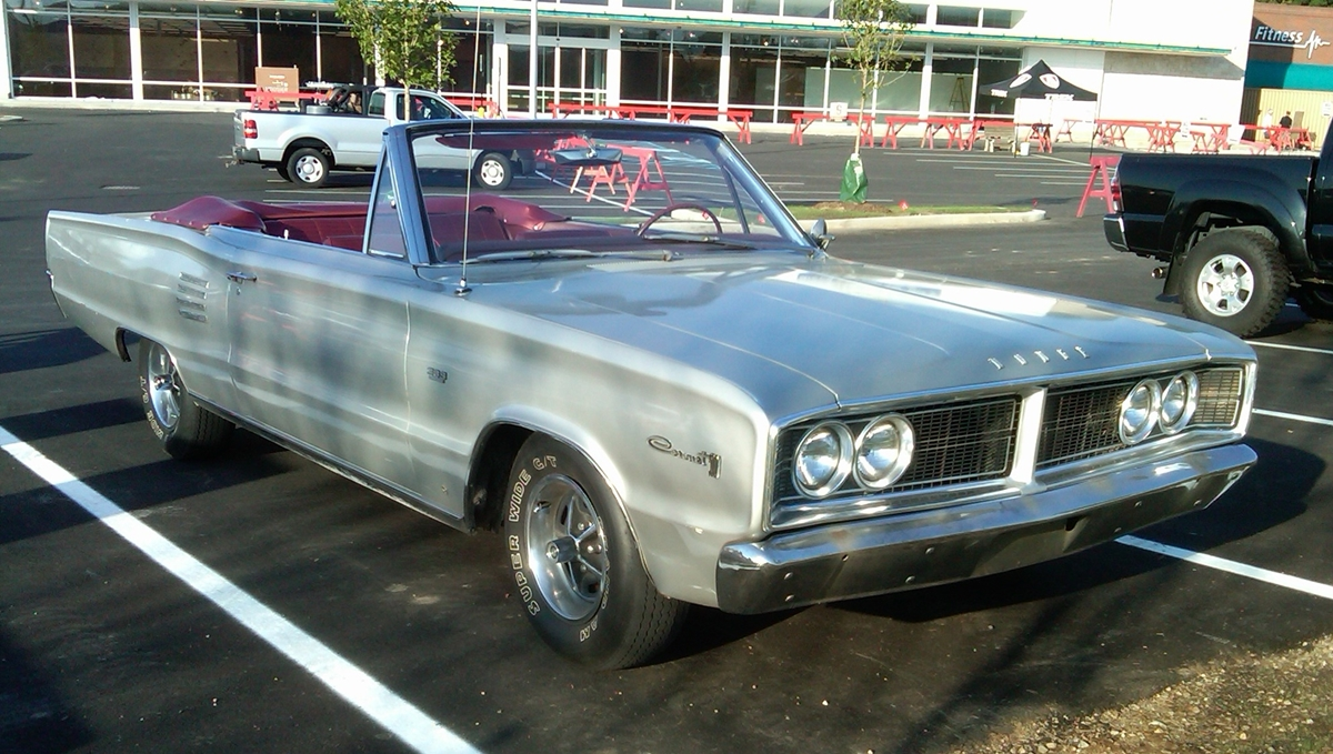 Curbside Classic: 1966 Dodge Coronet 500 – This B-Body Earns an 'A'