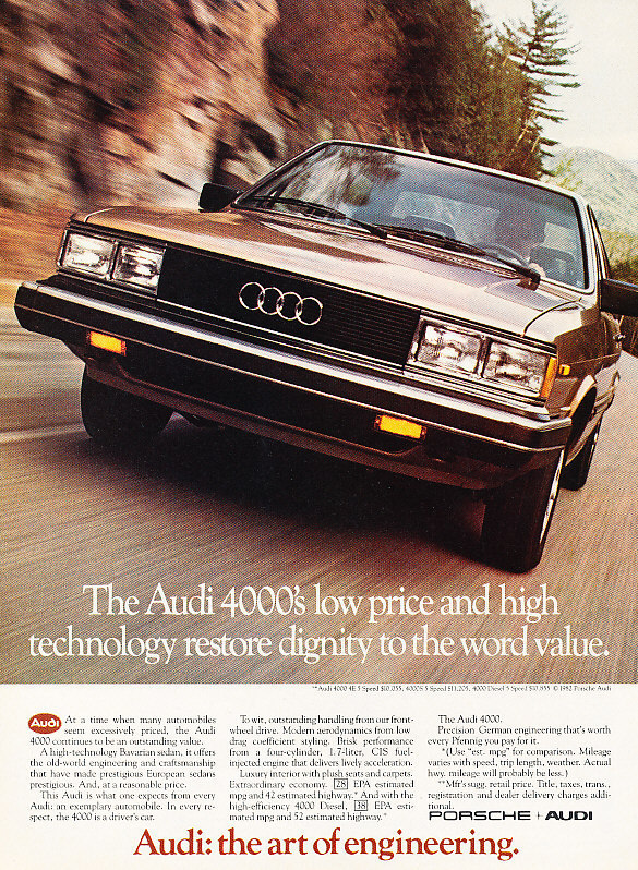 Coal 1980 audi 4000 the boy embraces his heritage 4000ad publicscrutiny Image collections
