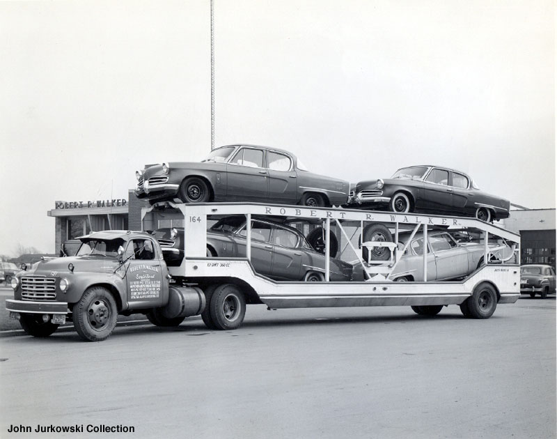 Vintage Car Carriers When The Trucks Mostly Matched The