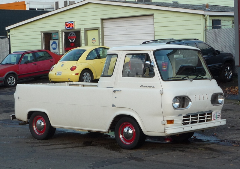 8613ee6ad1 Curbside Classic  1963 Ford Econoline Pickup – Keep The Sand Bags Handy