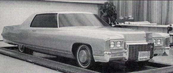 Cadillac 1971 clay 1