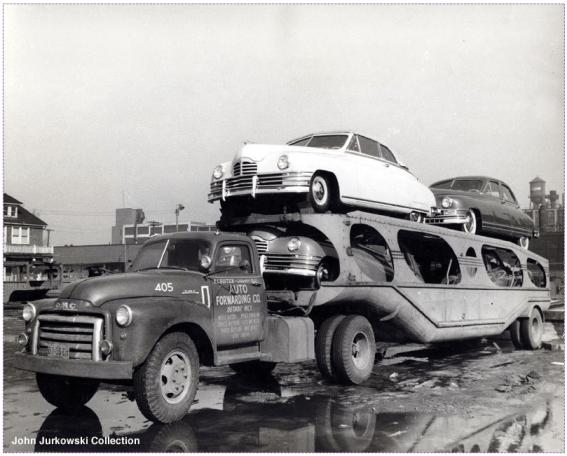Car Carrier Packard