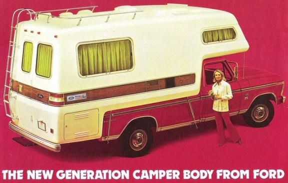Ford 1973 camper