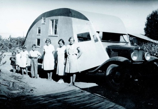 Pickup Camper 1935 1929 Chevy truck