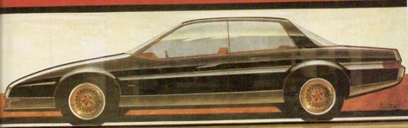 Pontiac Concept Bonneville 1982