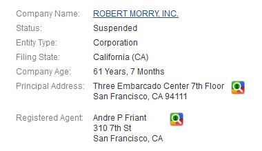 Robert Morry