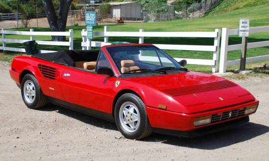 curbside classic 1985 ferrari mondial qv los angeles family car. Black Bedroom Furniture Sets. Home Design Ideas