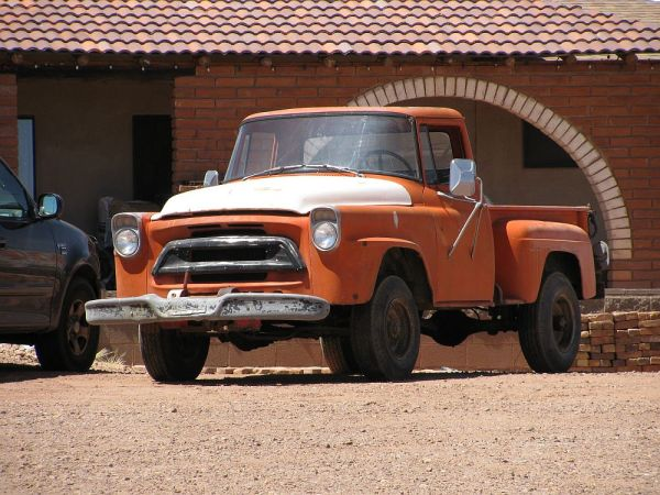 1957 International A-series pickup