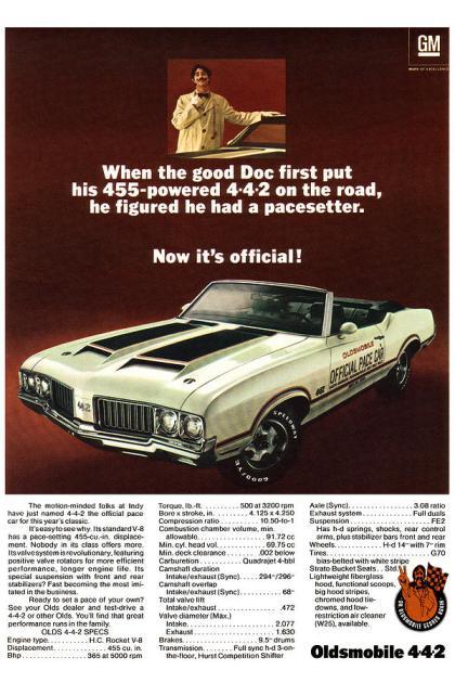 1969OldsPaceCar01