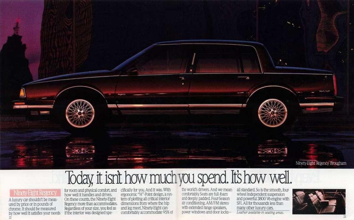 Curbside classic 1990 oldsmobile ninety eight regency brougham 1990 oldsmobile 13 fandeluxe Images