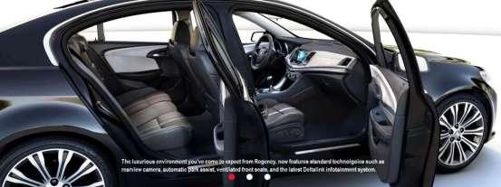 2014 Oldsmobile Ninety-Eight interior side