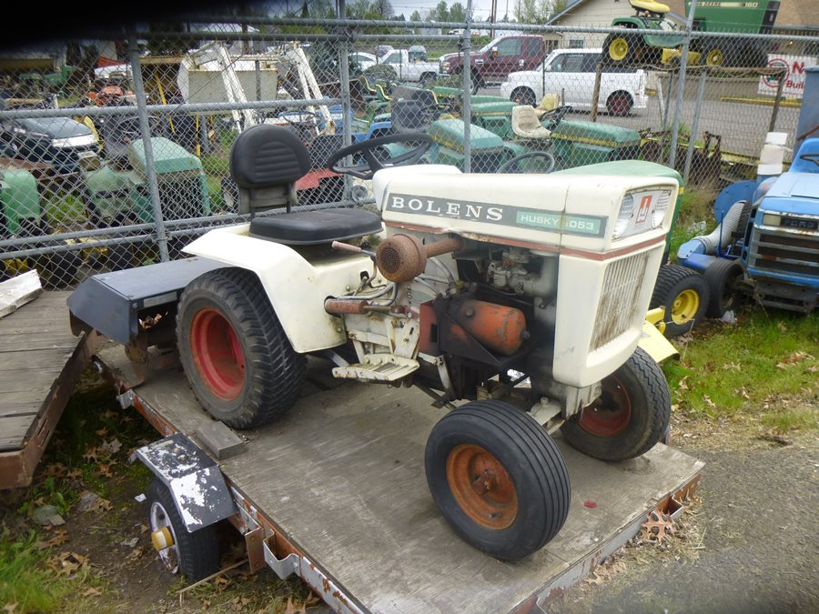 Lawnside Classics Burts Vintage and Used Riding Mower And