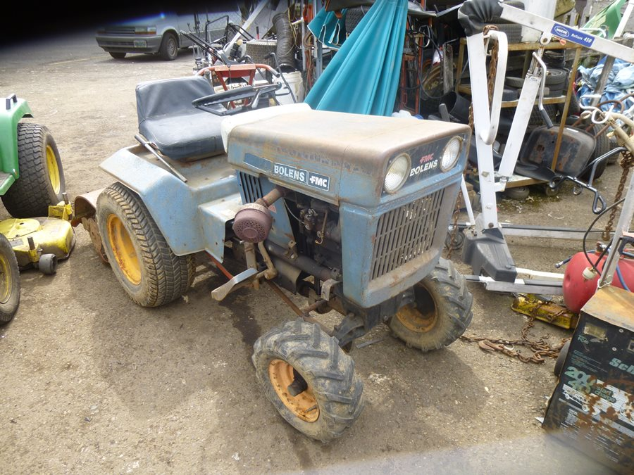 Lawnside Classics Burts Vintage and Used Riding Mower And Garden