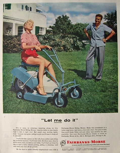 fairbanks morse mower ad